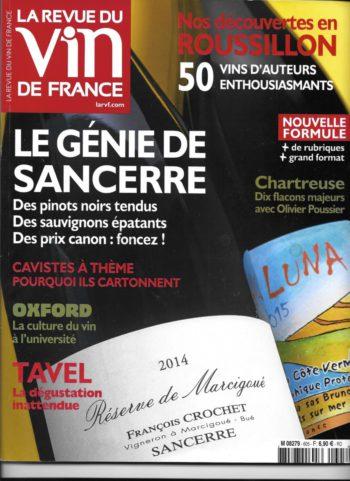 la revue du vin de france sancerre
